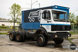 camion châssis MERCEDES-BENZ SK 2527 10 roues chassis-cabine
