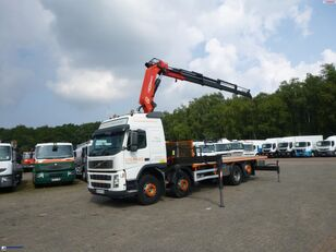 camion plate-forme VOLVO FM12 8x2 RHD + PM 40SP